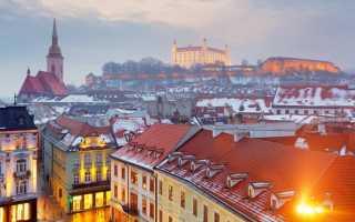 Требуемые документы на визу в Словакию