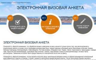 Характеристика анкеты на визу в Финляндию онлайн