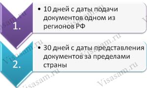 Необходимые документы для оформления паспорта РФ при получении гражданства