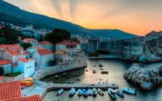 Правила для визы в Хорватию