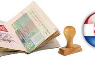 Какой вид визы нужен в Хорватию