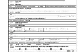 Обзор анкеты для оформления загранпаспорта