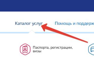 Как подать заявление на регистрацию по месту жительства через Госуслуги