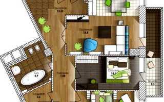 Этапы перепланировки 3-х комнатной квартиры