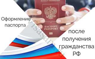 Что необходимо делать после получения паспорта РФ