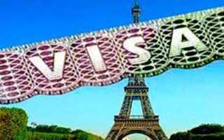 Обзор шенгенской визы во Францию