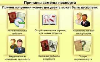 Что говорит закон о замене гражданского паспорта
