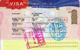 Главные черты визы в Южную Корею