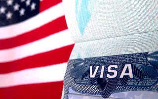 Где обычно указывается номер визы в США
