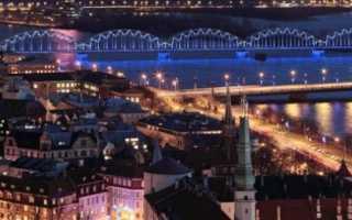 Оформление туристической визы в Латвию для россиян