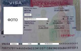 Как оформляется гостевая виза в США для россиян