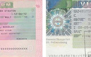 Порядок оформления визы в Германию