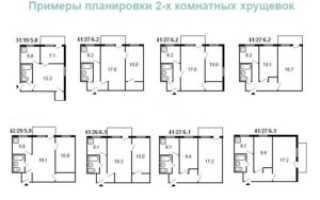 Как оформить перепланировку 2-х комнатной хрущевки