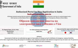 Что такое электронная туристическая виза в Индию