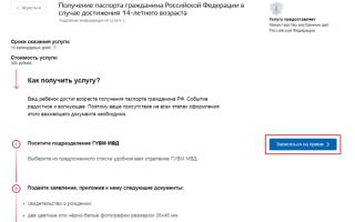 Сколько в среднем делается паспорт РФ в 14 лет