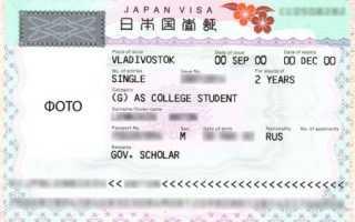 Что такое рабочая виза в Японию