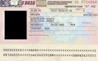 Основные виды виз в Россию для иностранцев