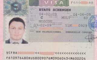 Алгоритм, как получить визу в Данию