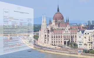 Правила и порядок заполнения анкеты на визу в Венгрию