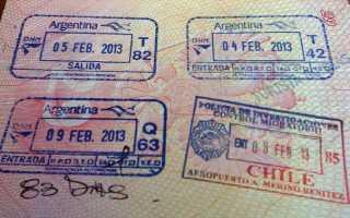 Процесс оформления визы в Аргентину