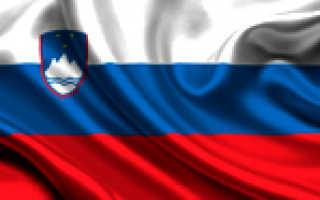 Перечень документов на визу в Словению
