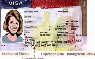 Процедура продления визы в США