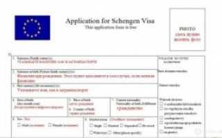 Обзор содержания анкеты на визу в Норвегию