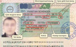 Сколько по времени делается виза в Польшу